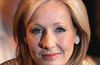 Children's Fiction author JK Rowling