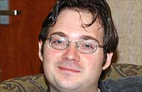 Fantasy Fiction author Brandon Sanderson